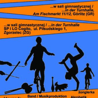 "ulotka/plakat ""CYRKUS im Laden | w sklepie 2018-19"""